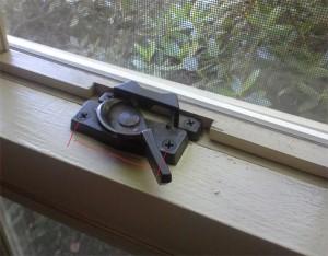 bristol black window lock