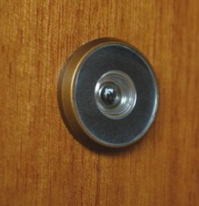 peeled eyes for your door security