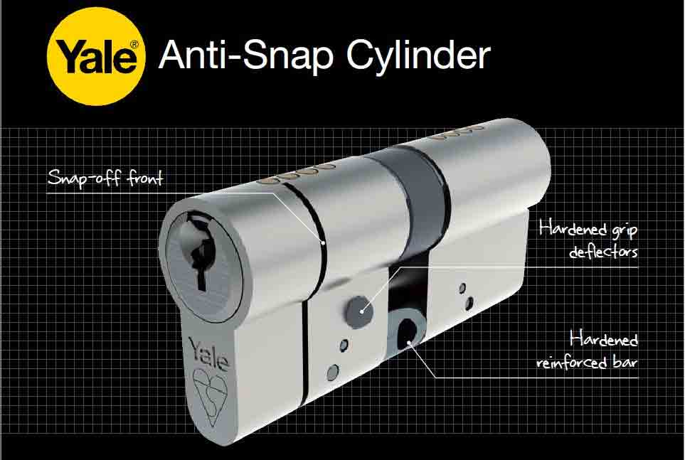 Locksmith Bristol Anti Snap Yale