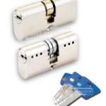 Locksmiths blue keys
