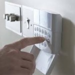 home security alarm panel