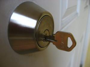 key locked inside
