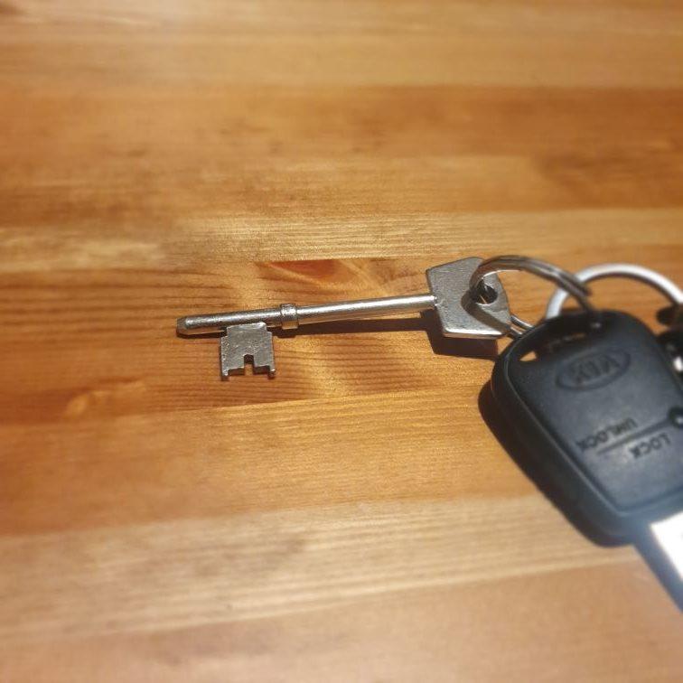 locsmith bristol silver key